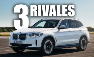 Los 3 rivales a los que el BMW iX3, un nuevo SUV eléctrico, hará frente