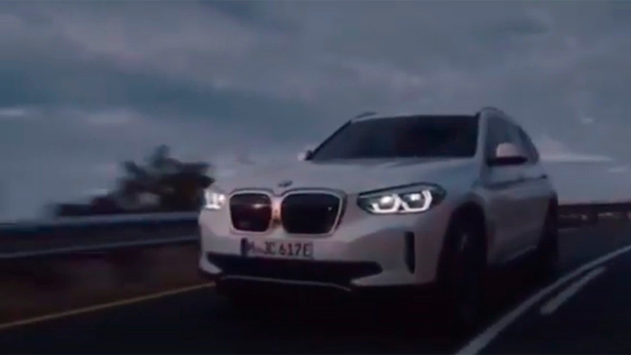El nuevo BMW iX3 filtrado en vídeo, así es el esperado SUV eléctrico premium