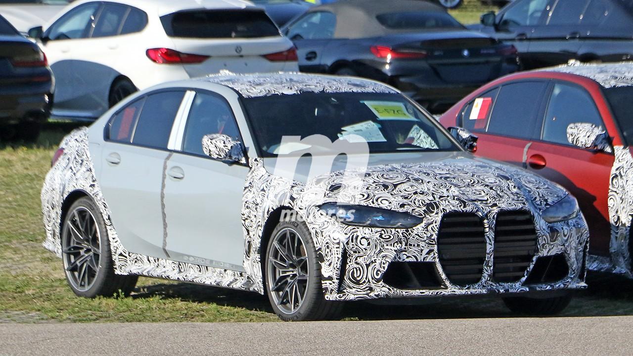 Nuevas fotos espía desvelan tres unidades de pre-producción del BMW M3 2021