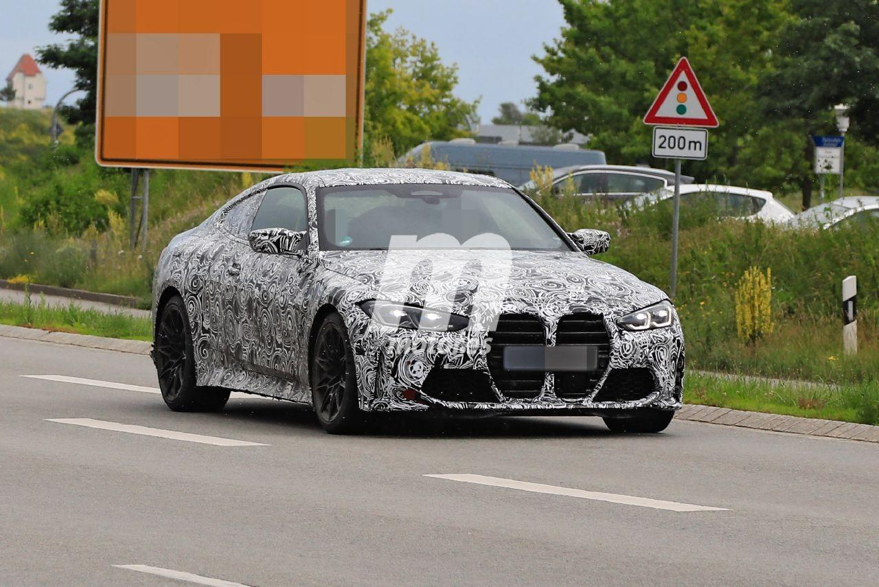 Nuevas fotos espía del BMW M4 Coupé 2021 empiezan a mostrar un destape
