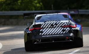 El BMW M4 GT3 completa su primer test con Augusto Farfus de piloto