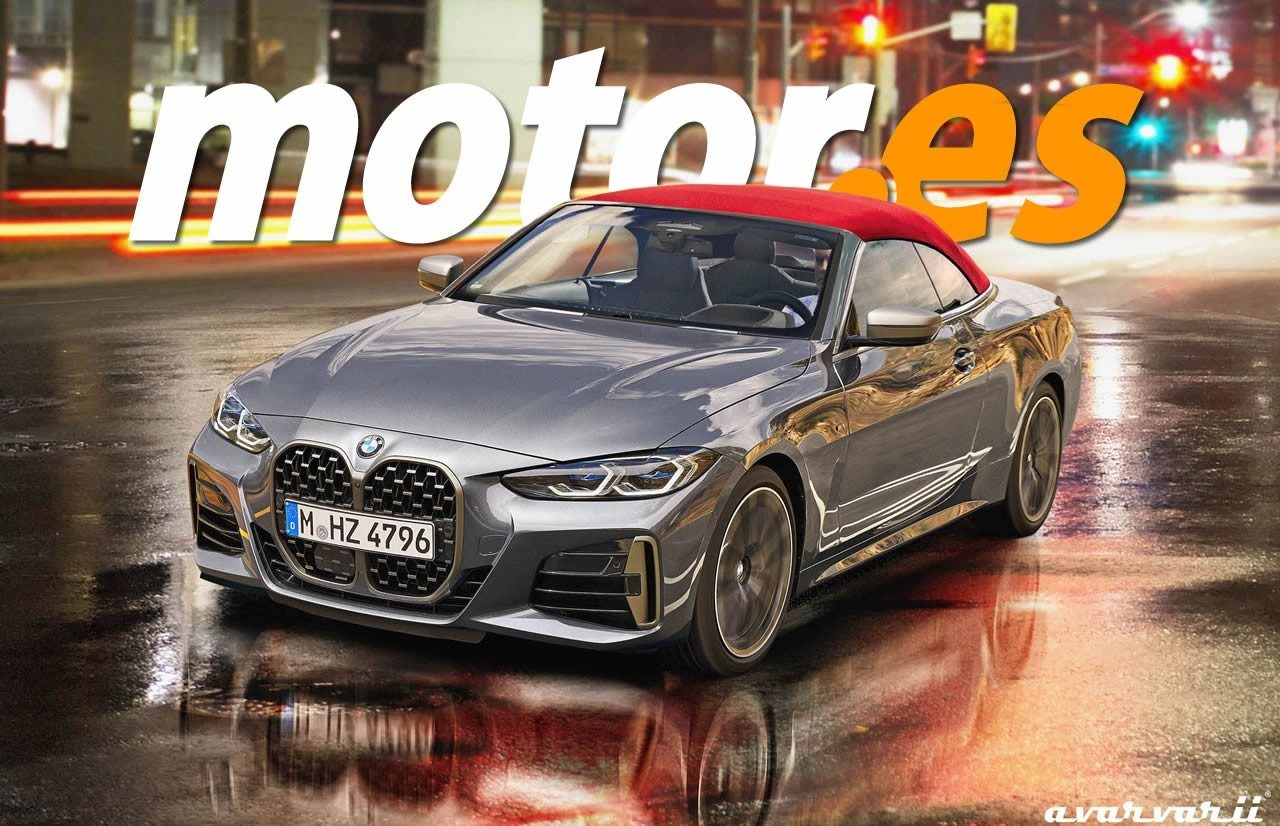 Nuevo vistazo al diseño del nuevo BMW Serie 4 Cabrio 2021, que debuta en otoño