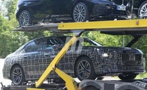 El BMW i7 se deja ver por primer vez con su cuerpo definitivo