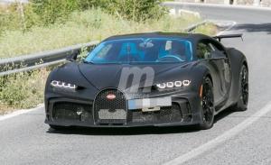 ¡Cazados! Los prototipos del nuevo Bugatti Chiron Pur Sport en la calle