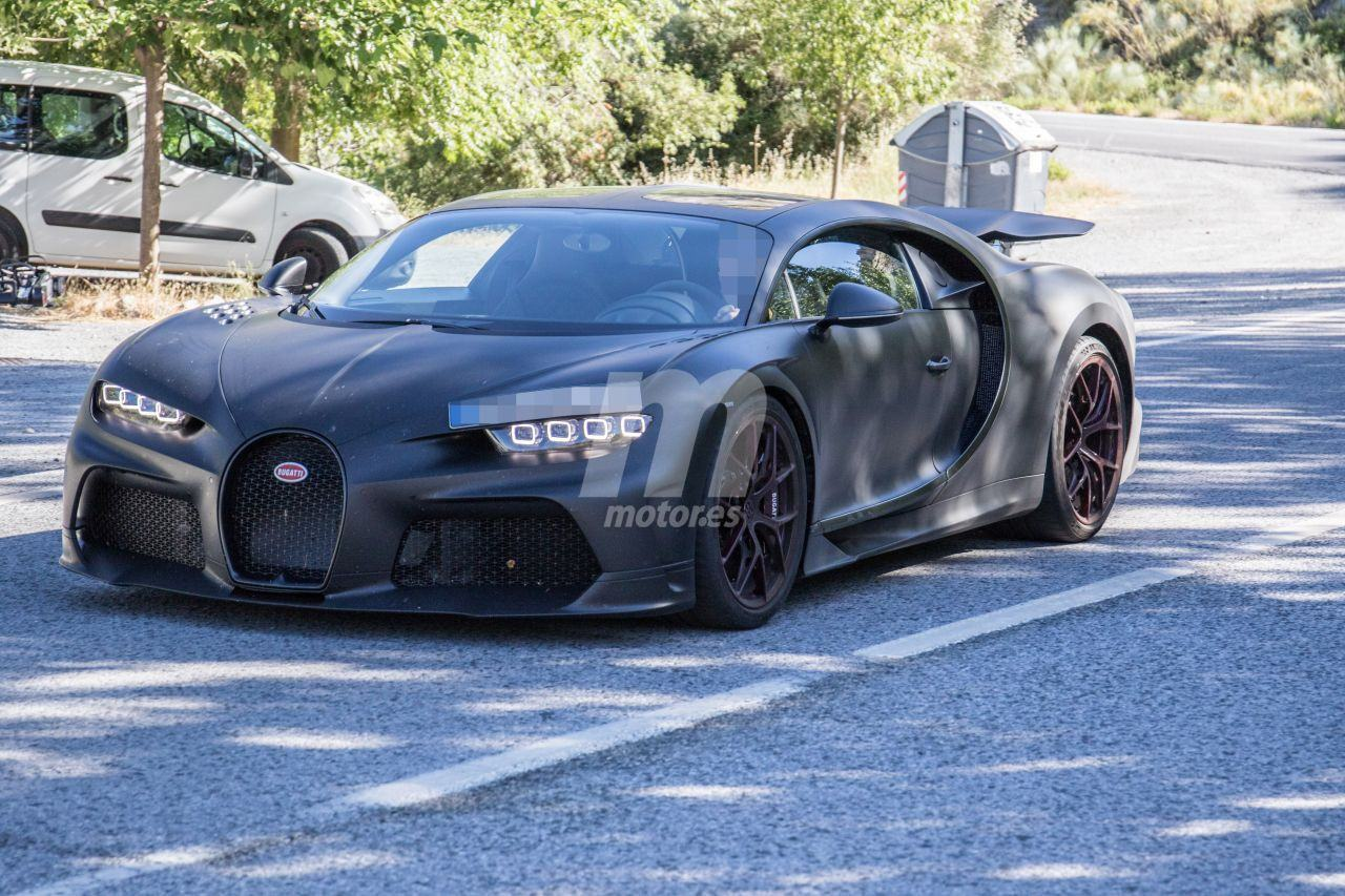 El Bugatti Chiron Super Sport 300+ cazado en su configuración definitiva por primera vez