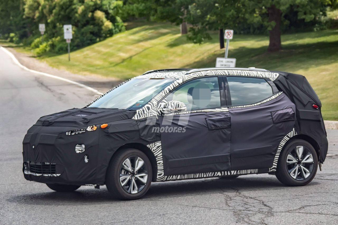 El futuro Chevrolet Bolt EUV eléctrico revela su interior por primera vez