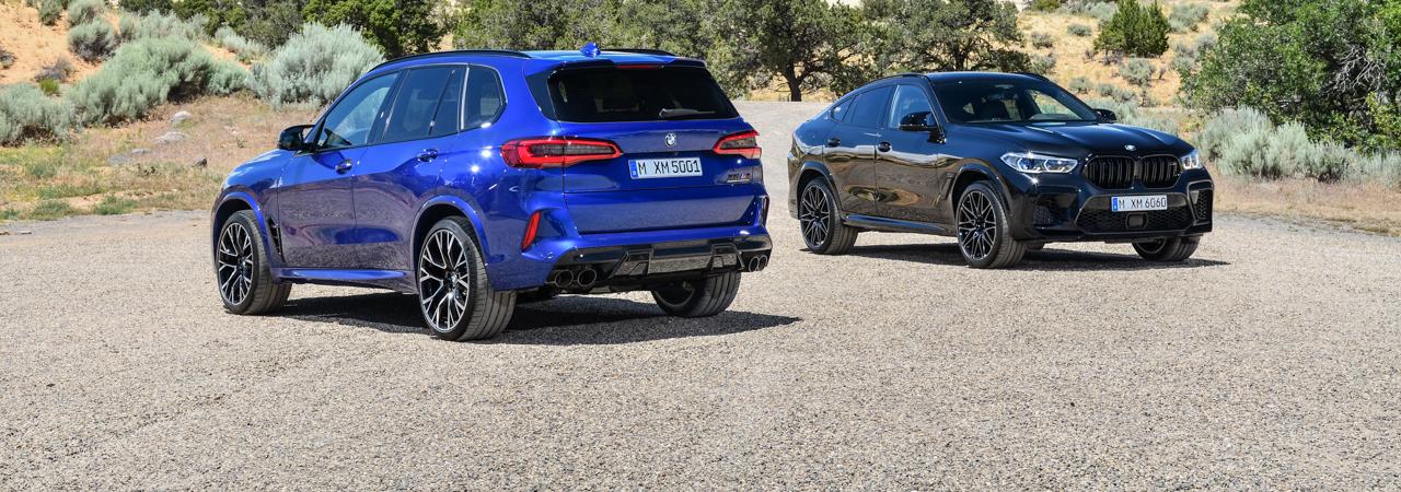 Prueba BMW X5 y X6 M, dos fuerzas de la naturaleza