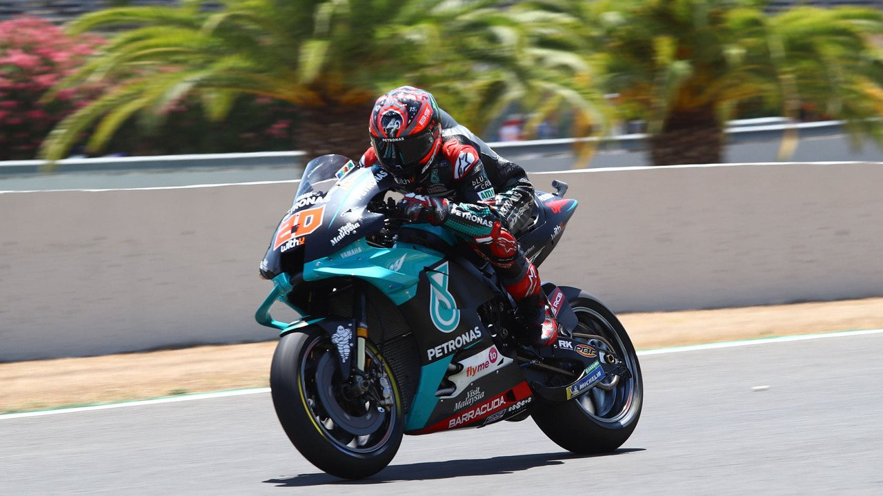 Fabio Quartararo logra la apretada e igualada pole del GP de Andalucia