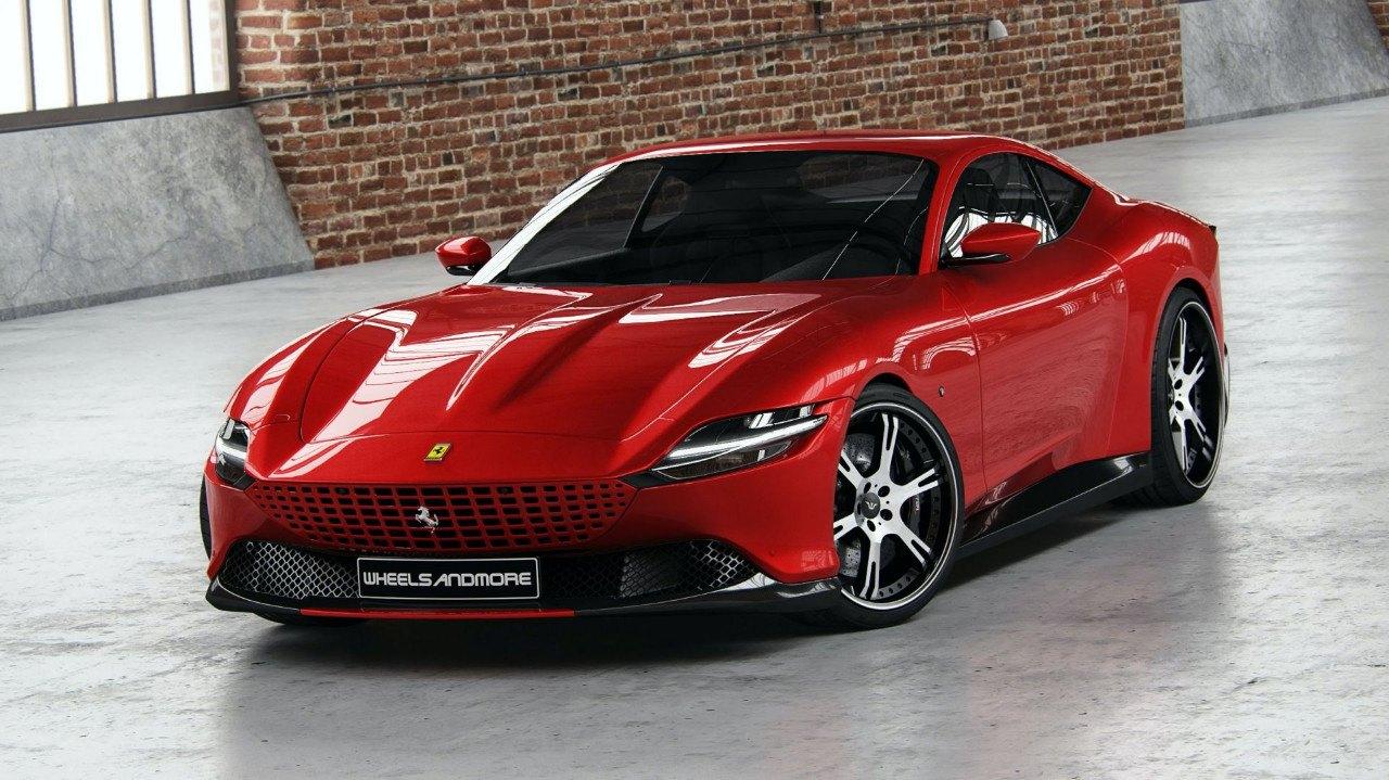 El Ferrari Roma Mas Radical Llega De La Mano De Wheelsandmore Con 700 Cv Motor Es