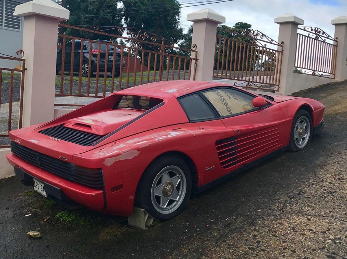 Rescatan Un Ferrari Testarossa Tras 10 Anos Abandonado A La Intemperie Motor Es