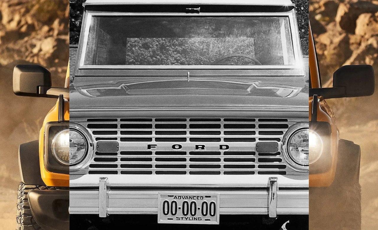 Ford revela el frontal retro del nuevo Bronco en su último teaser
