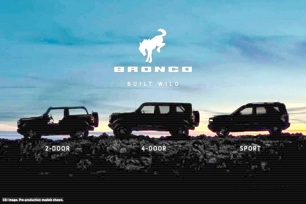 Una enorme filtración revela la gama y nuevos detalles del Ford Bronco
