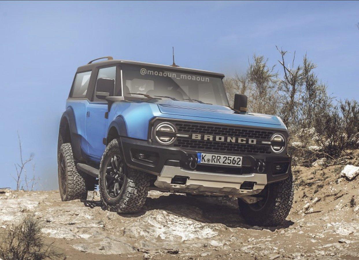 ¡Preparad las carteras! Hennessey ya anuncia accesorios para el futuro Ford Bronco
