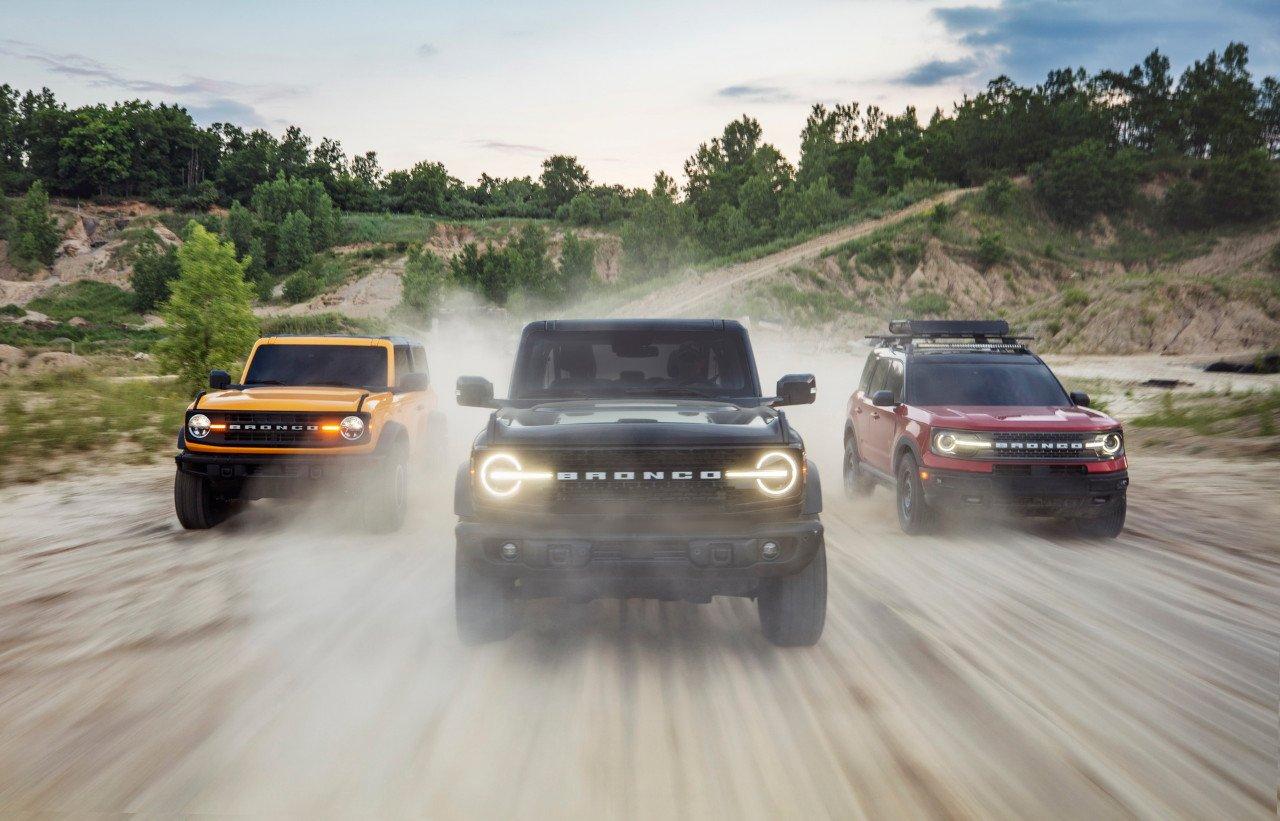 Se filtran todos los precios de la gama Ford Bronco 2021