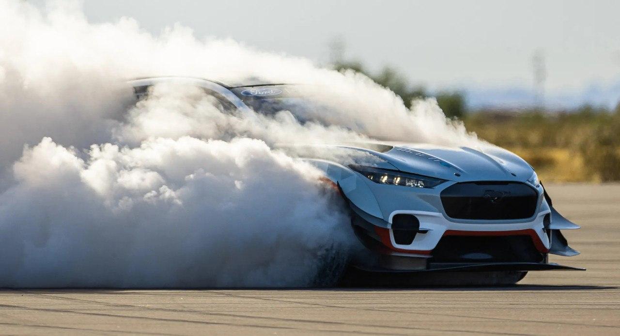 Ford revela la primera imagen del Mustang Mach-E más salvaje y deportivo