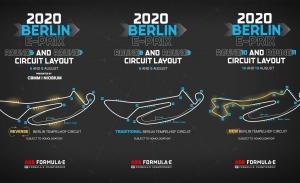 La Fórmula E desvela las tres variantes de pista del ePrix de Berlín