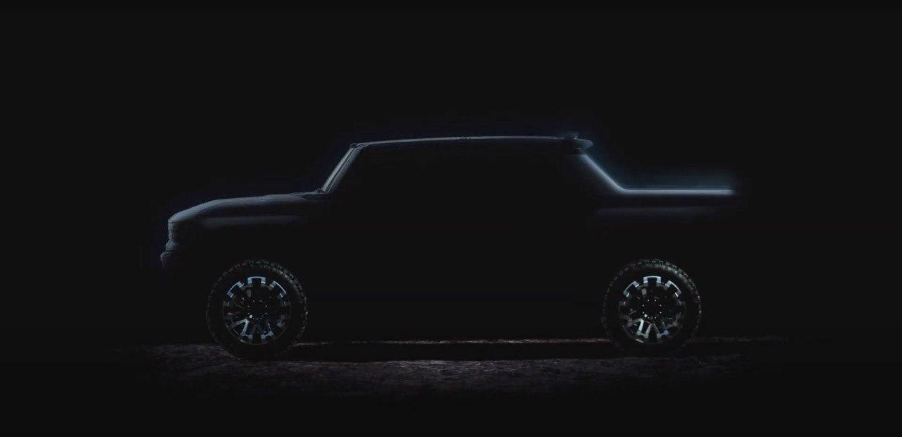General Motors revela nuevas imágenes del futuro Hummer pick-up