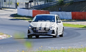 Nuevas fotos espía del nuevo Hyundai i20 N, el utilitario se destapa en Nürburgring