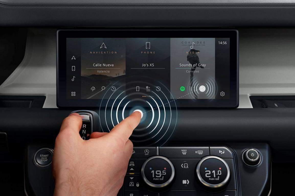 Jaguar Land Rover desarrolla una nueva pantalla digital predictiva