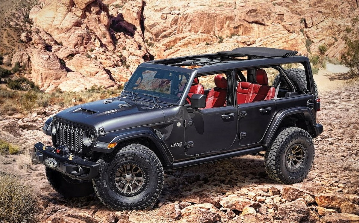Jeep Wrangler Rubicon 392 Concept Adelanto Del Wrangler V8 Motor Es