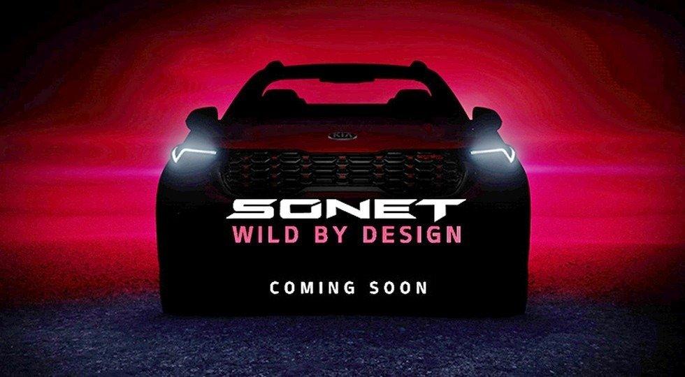 KIA India anuncia la presentación del nuevo Sonet con un vídeo teaser