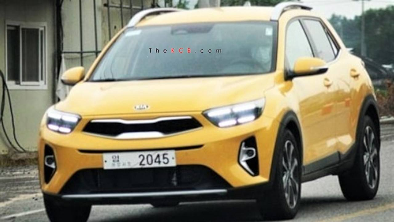 El frontal del nuevo KIA Stonic al descubierto, ¡el B-SUV coreano será actualizado!