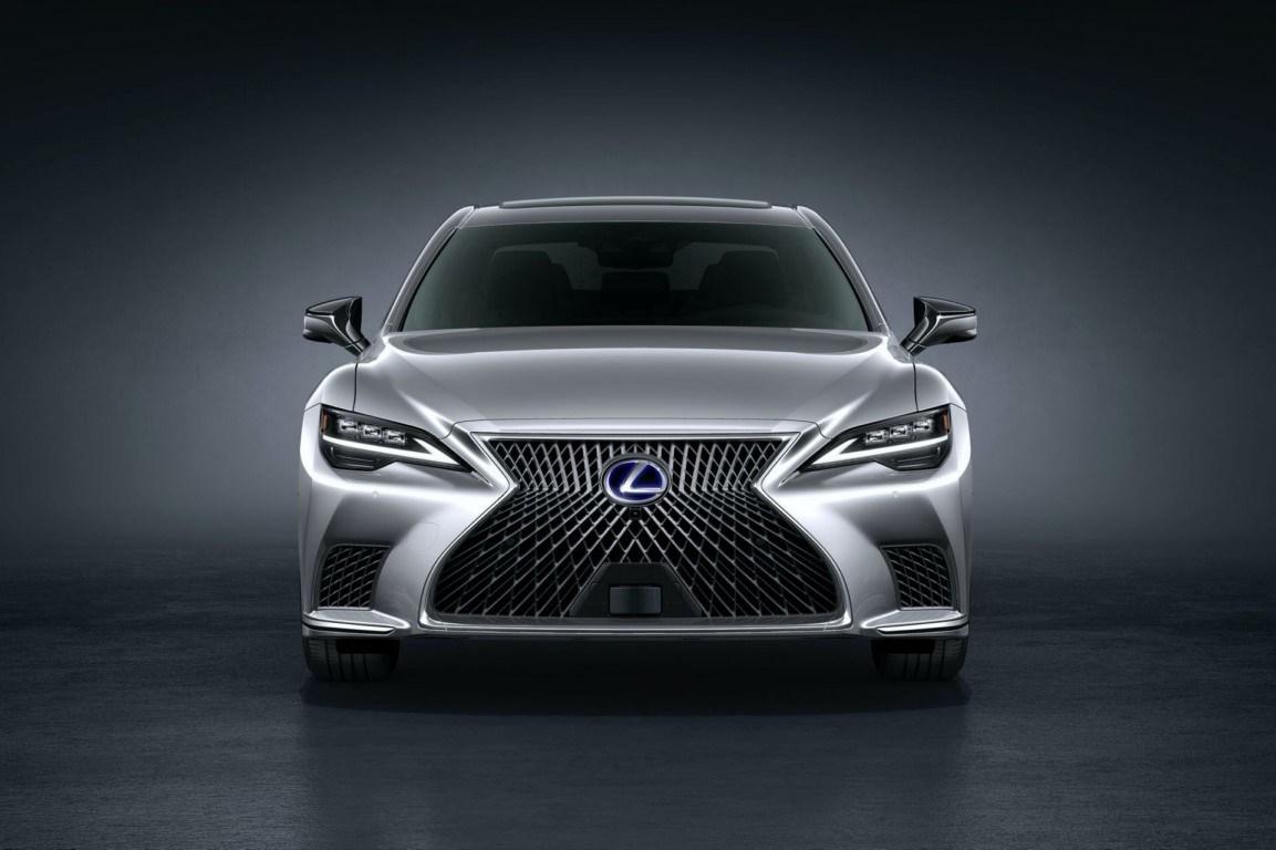 El Lexus LS 2021, un ligero facelift por fuera pero cargado de tecnología por dentro