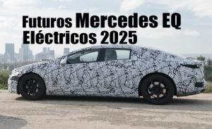 Descubrimos todos los futuros coches eléctricos de Mercedes EQ hasta 2024