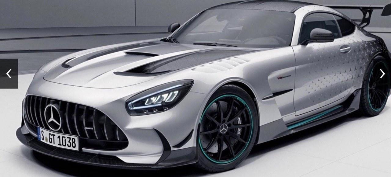 Mercedes-AMG GT Black Series P One Edition, solo para los clientes del AMG One