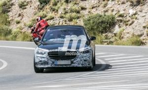 Nuevas fotos espía del Mercedes Clase S 2021 dejan ver nuevos detalles