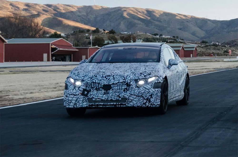 Mercedes confirma que el futuro EQS contará con 700 kilómetros de autonomía