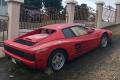 Rescatan un Ferrari Testarossa tras 10 años abandonado a la intemperie
