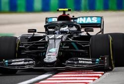 Bottas recupera el control en la fría pista de Hungaroring y Ferrari mejora
