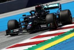 Hamilton gana el GP de Estiria con una mano