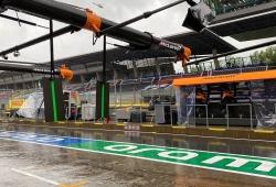 Los terceros libres se cancelan por la lluvia, y se manejan varios escenarios para la clasificación