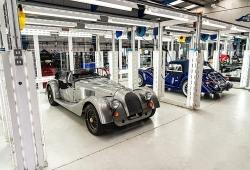 Morgan fabrica el último chasis de acero que ha usado durante 84 años