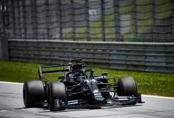 Sanción de 3 puestos a Hamilton; Verstappen saldrá segundo, el inglés quinto