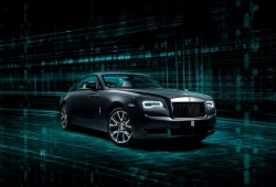 Rolls-Royce Wraith Kryptos: el coupé de lujo que esconde un secreto