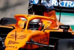 Sainz, positivo a pesar del alerón dañado: «El coche fue parecido a los test»