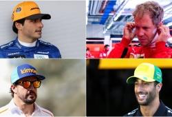 ¿Vettel a casa, Sainz a Ferrari, Ricciardo a McLaren y Alonso a Renault ya este año?