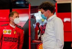 Vettel da pistas sobre su futuro y contradice a Ferrari: «Nunca hubo oferta»