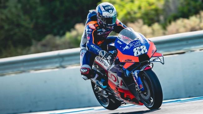 Clasificación del GP de Andalucía 2020 de MotoGP