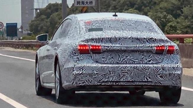 Audi A7 L Sportback - foto espía posterior