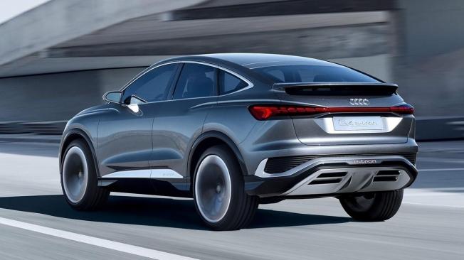 Audi Q4 Sportback e-tron Concept - posterior
