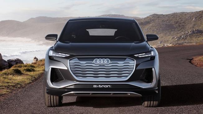 Audi Q4 Sportback e-tron Concept - frontal