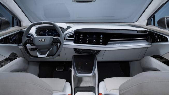 Audi Q4 Sportback e-tron Concept - interior