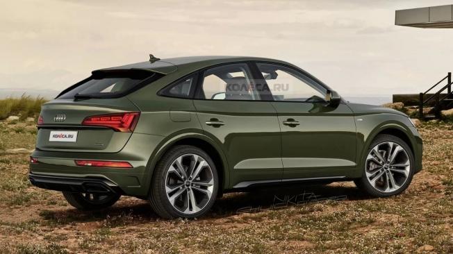 Nueva recreación del Audi Q5 Sportback, la segunda ...