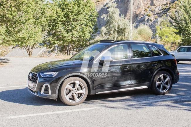 Audi SQ5 2021 - foto espía