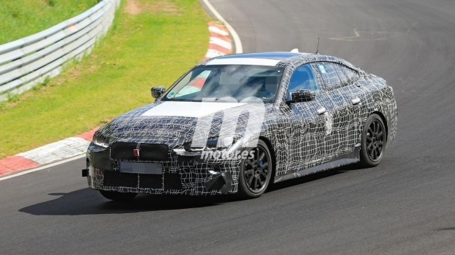 BMW Serie 4 Gran Coupé 2021 - foto espía