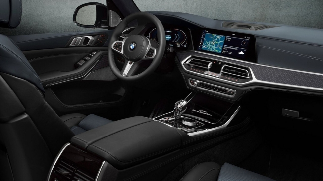 BMW X7 Dark Shadow Edition - interior